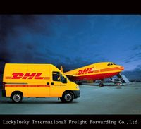 DHL international shipping rates from China to Germany shipping agent