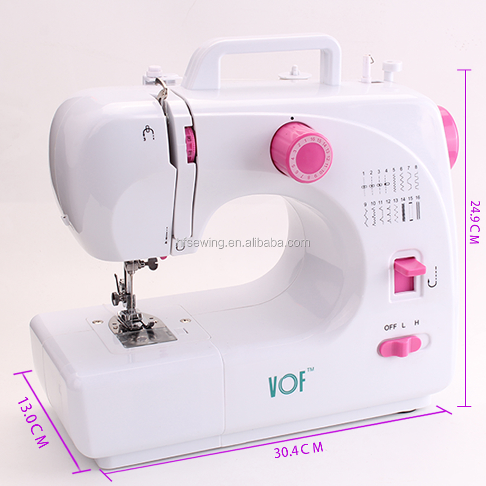 FHSM-988 China Factory Price Pattern Household Automatic Thread Rewind Sewing Machine for Children