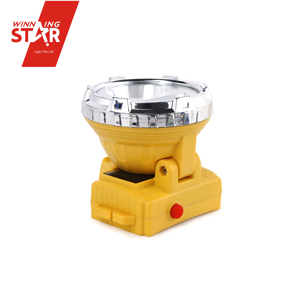 portable zoom headlamp rechargeable solar headlight