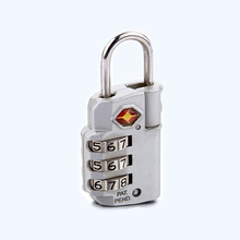 3 Dials PC brass zinc alloy privacy smart keypad lock for luggage box