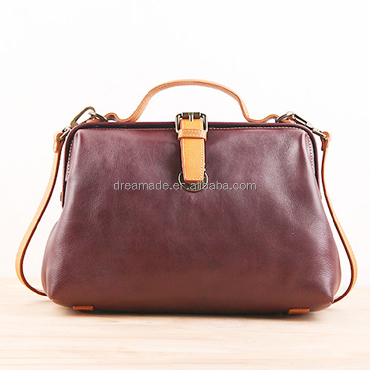 top sale genuine leather bag messenger
