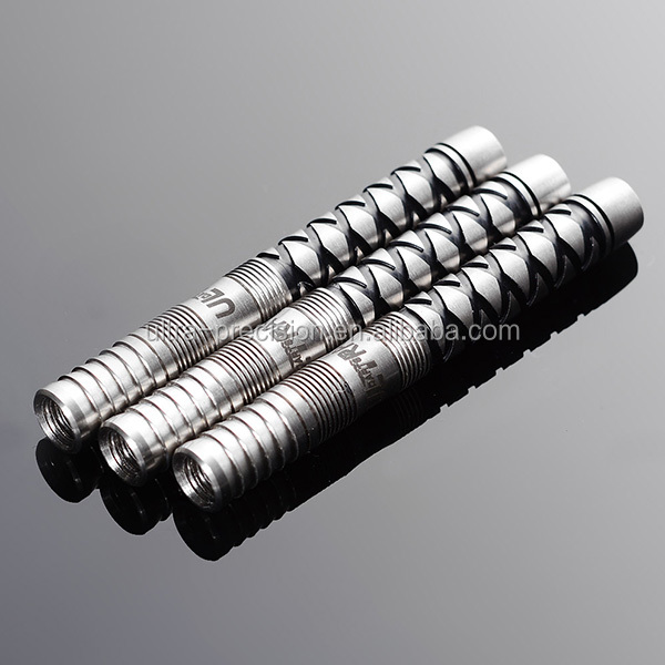 Customized Interval black Color Soft Tip Tungsten Dart Barrels