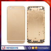 Grade AAA quality for iphone 6 rose gold housing with back cover