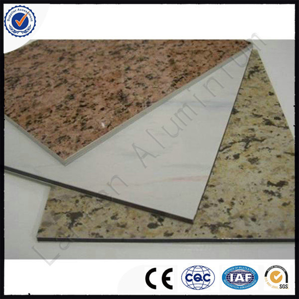 1.5mm 6 mm Marble/Stone Color aluminium composite panel sheet