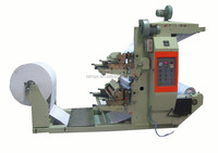 YT-1800 automatic single color roll plastic film and paper flexo printing machine