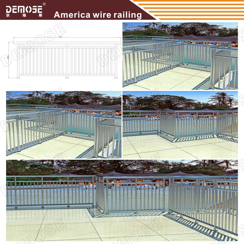 Balcony steel grill designs prices of stainless steel for Stainless steel balcony grill design