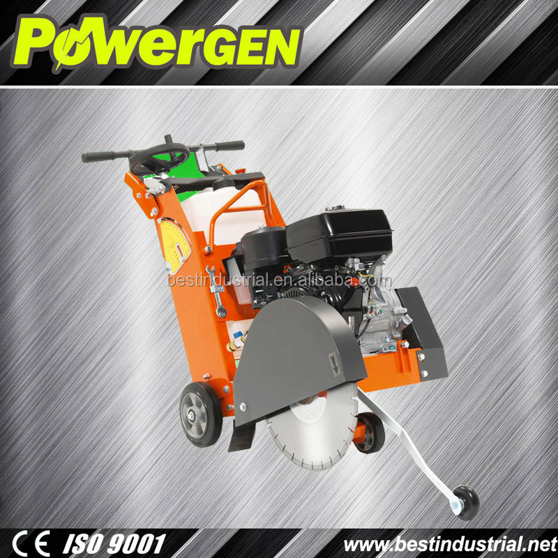 Factory Price!!!POWER-GEN Super Design Reliable Road Machinery Portable 150mm Honda Engine Gasoline Concrete Road Cutter