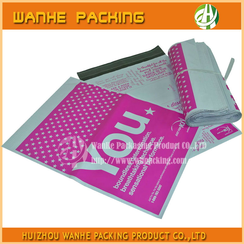Best customized Printed Postal dhl plastic Mail bags DHL/UPS/TNT--HZWHB835
