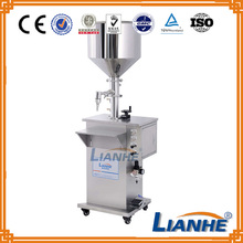Semi automatic air compressed driven bottle filling machine price
