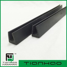 rubber table edge guard/extruded plastic rubber strip/edge trim for sheet metal