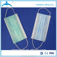 Medical nonwoven protective face mask, mouth cover