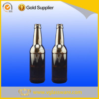 Brown color widely used 330ml glass beer bottle