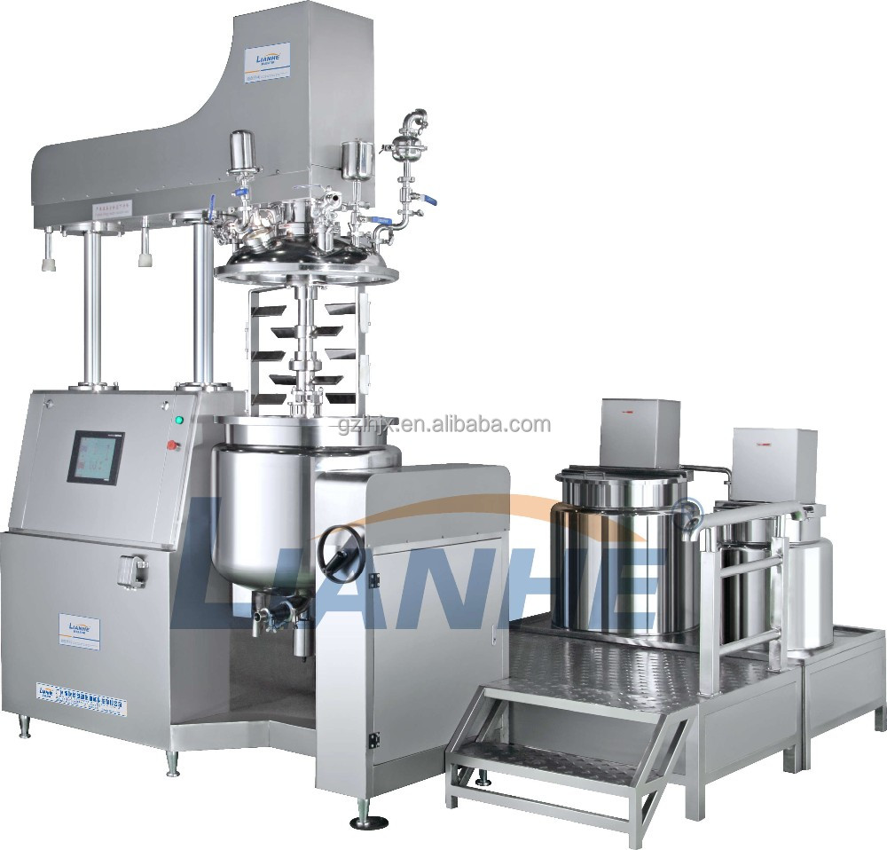 Automatic cosmetic vacuum emulsifying mixer with competitive price