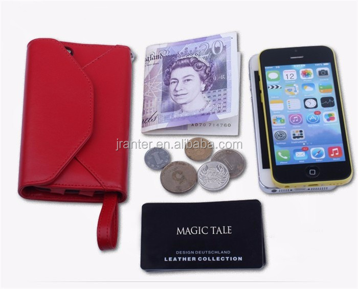 Multifunction Wallet Leather Case for iPhone 6 Custom Logo for iPhone Wallet Case