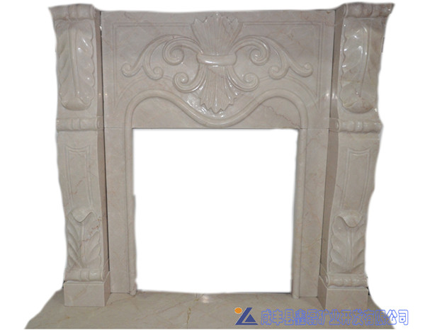 marble fireplace for living room