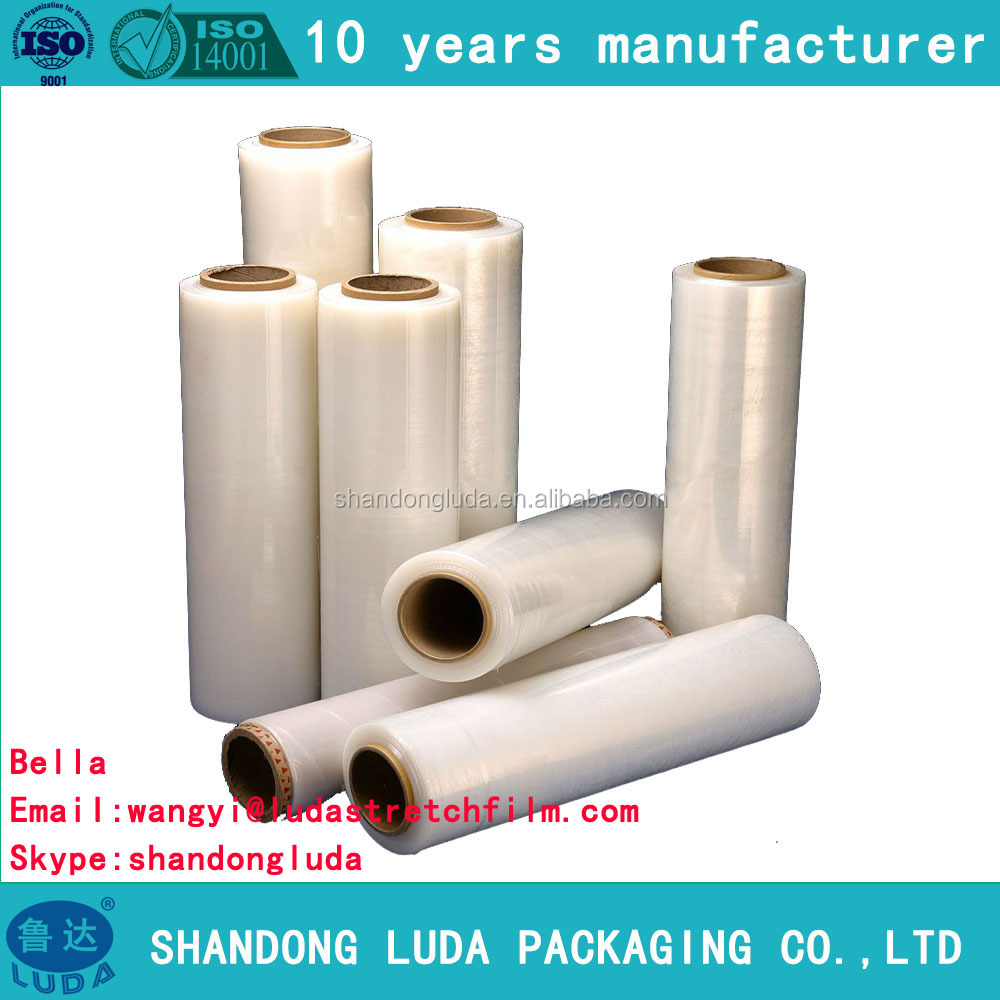 Old Factory LLDPE Stretch Film In ShanDong Stretch Film Jumbo Roll
