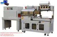 Shanghai Taoshan JT 400LB and JT 4525B full automatic L type heat sealing and shrink packaging machine