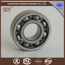 shandong china made steel cage 6204 deep groove ball bearing for conveyor bearing