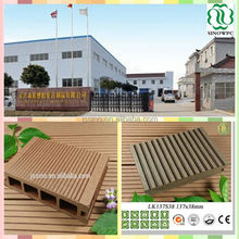 hot sale water resistance wpc flooring. High quality, CE certificate, wood plastic composite decking