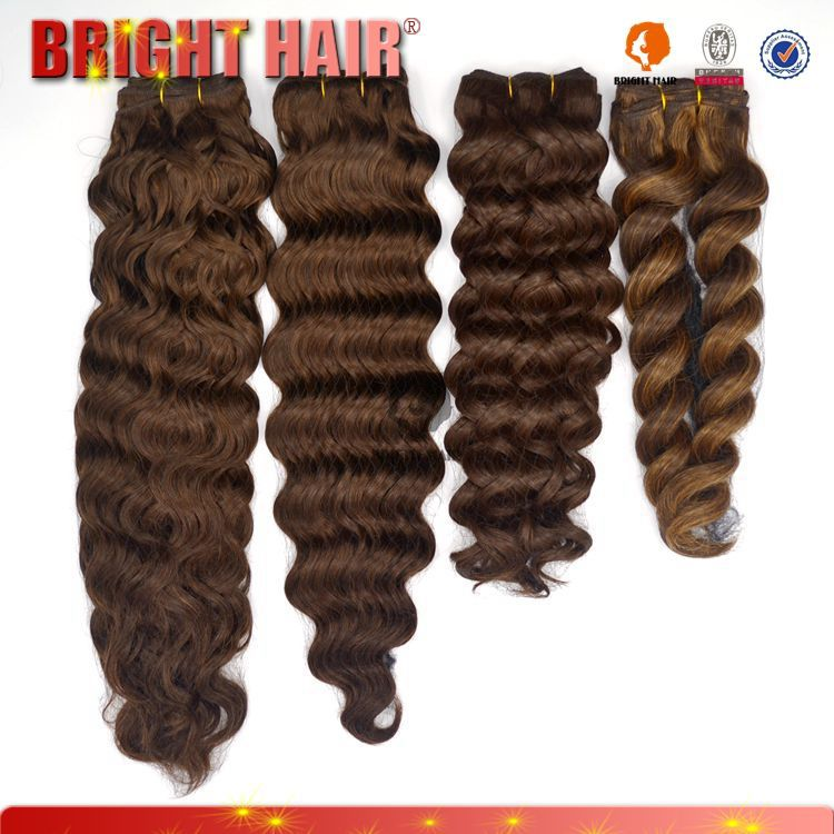 Synthetic Deep wave hair weaving/ deep wave curl hair extension