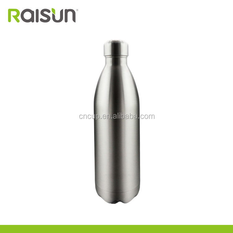 Novelty high quality Stainless steel new swell cola vacuum sport drinking water bottle