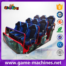 Qingfeng 5d 7d 9d cinema theater 3d simulator 4 places xd rider 5d cinema