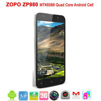 5inch ZP980 MTK6589 quad core Smart phone 1GB RAM 16GB ROM Android 4.2 FHD IPS 1920*1080 screen WCDMA