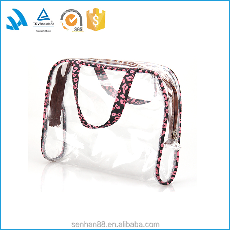 Ladies PVC Cosmetic Bag, Makeup Handbag Travel Organiser