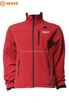 waterproof rechargeable heated softshell jacket