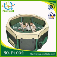 Foldable Nylon and Mesh Outdoor Dog Cage Playpen