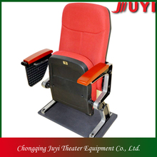 JY-606 metal legs cinema hall chair with armrest chair formal living room furniture