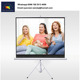 Movable and portable Tripod projector screen stand for watching TV / business
