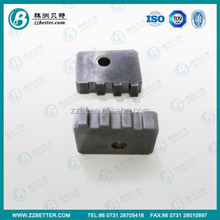 NPT National Pipe Threading Inserts Tungsten Carbide threading cutter