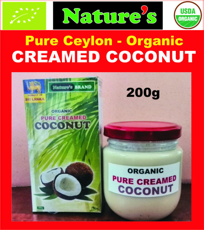 ORGANIC CREAMED COCONUT- (COCONUT BUTTER)