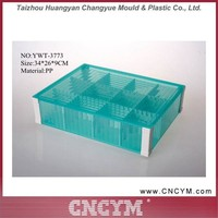 Wholesale Cheap Keyway Sorting Clear Plastic Colored Storage Box