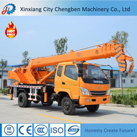 Low Fuel Consumption Off-road Truck Crane