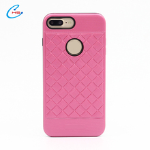 Mobile Accessories Slim Colorful Painted Printing Armor Tpu Pc Cover Light Weight Phone Case Mobile For Iphone7