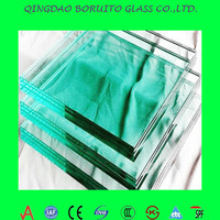 high strength 15mm tempered glass price