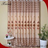 New popular wholesale latest design curtain embroidery design white embroidered cafe curtain embroidery sheer curtains