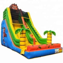 Factory direct commercial inflatable slide / monkey slide cheap sale
