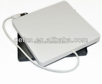 USB 2.0 usb sata dvd external case plastic 9.5mm/12/7mm dvd burner enclosure