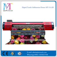 Digital Textile Printer Direct Dye Sublimation Digital Inkjet Textile Printer and Heater-Mut1600(1600mm Flag Making Machine)