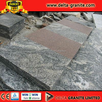 Natural Dark Grey Flamed Biasca Gneiss Granite,China Biasca gneiss paving slabs,Dark Biasca Gneiss Granite time delivery