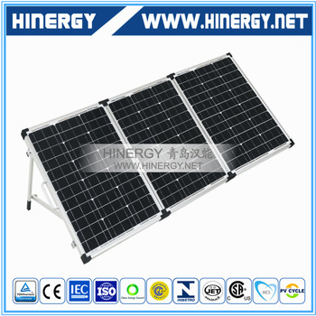 Reliable performance monocrystalline solar panel foldable 60W 90Wp 120W 150Watt 180W 12V foldable photovoltaic panel