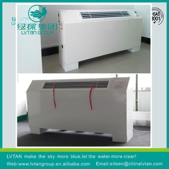 Floor type fan coil unit 2pipes 2rows fan coil unit cheaper price