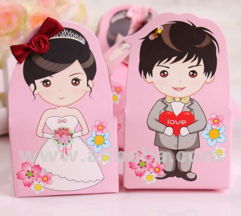 Wedding Souvenir Candy Box - Partner