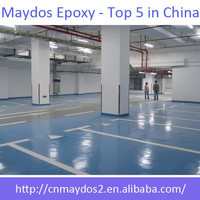 Maydos Oil Based Scratch Resistant Epoxy Resin Car Parking Floor Paint