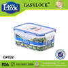 wholesale clear plastic lunch box for food