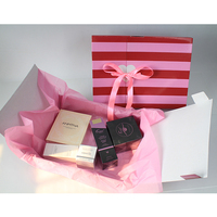 New Products Stripe Corrugated Gift Box