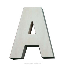 high quality wooden colorful alphabet LED letter for wedding decoration